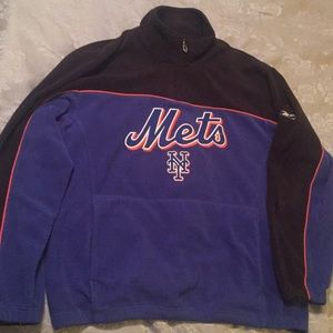 Reebok Quarter Zip Mets Fleece Size XL